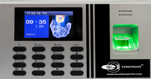 ECO TA500  STANDALONE FINGERPRINT TIME  ATTENDANCE